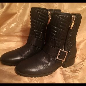 Women's Calvin Klein Leather Boots (barely worn)